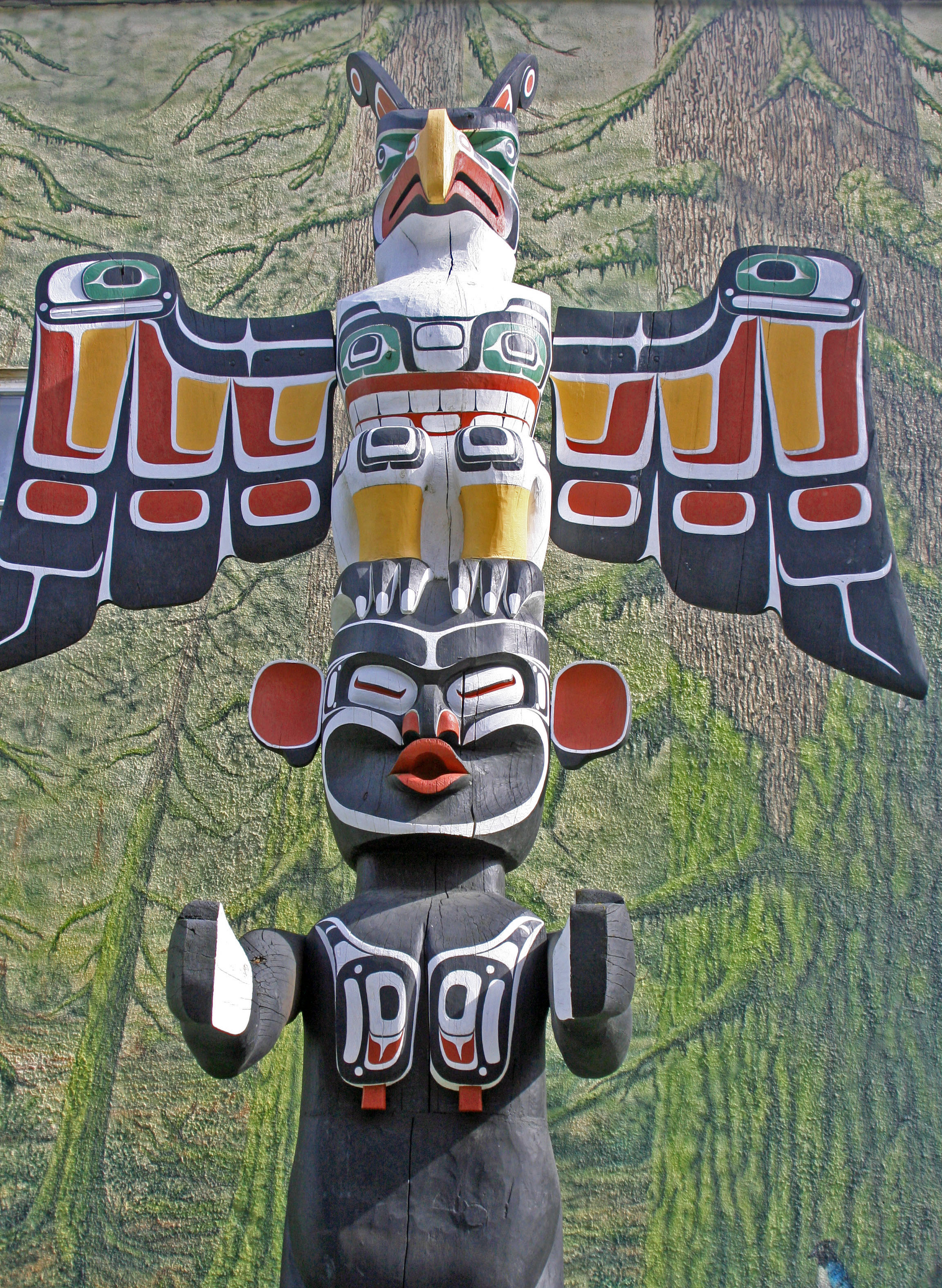 first nation totem poles u2026 north to alaska wandering through time