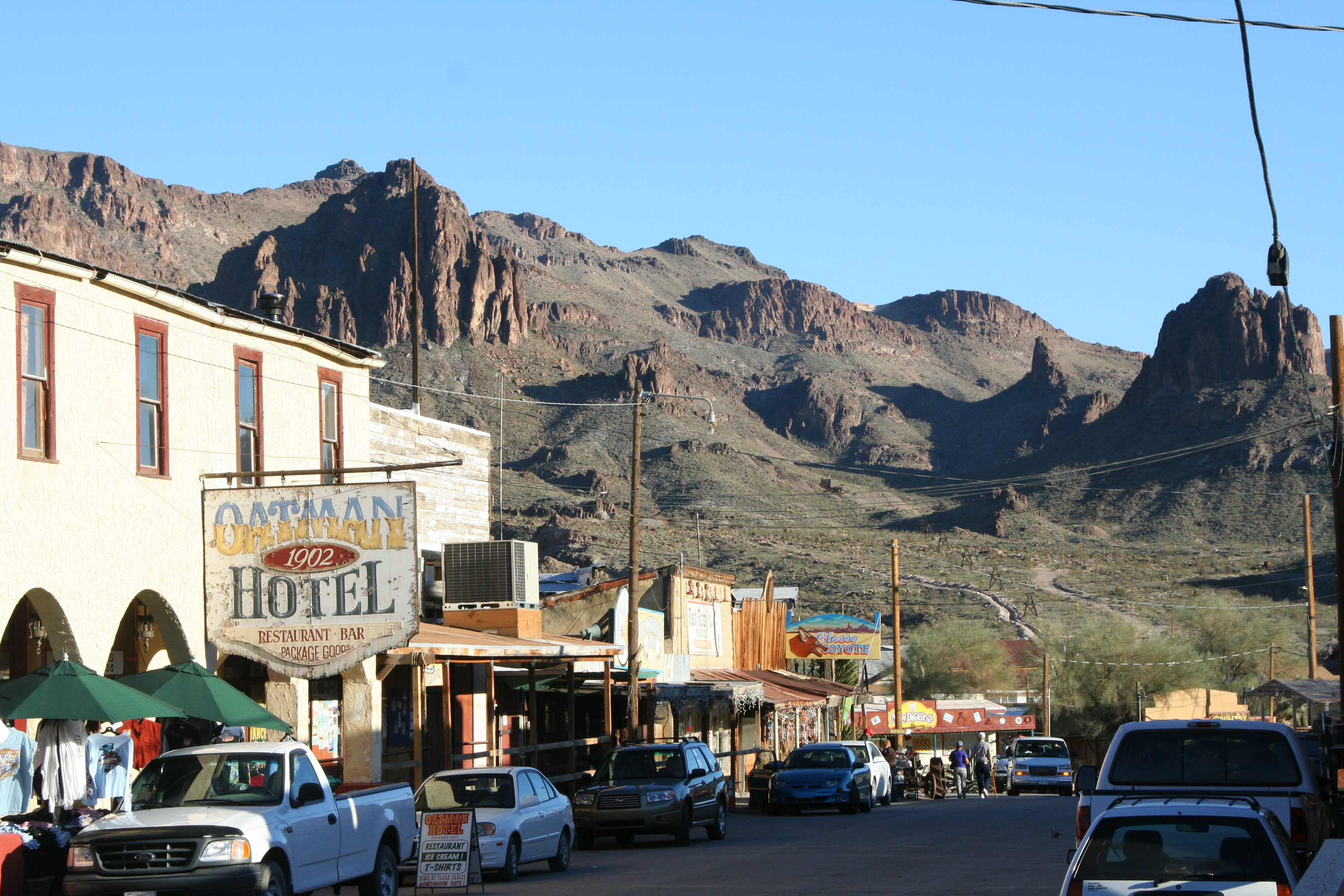 Oatman Arizona Wandering Through Time And Place