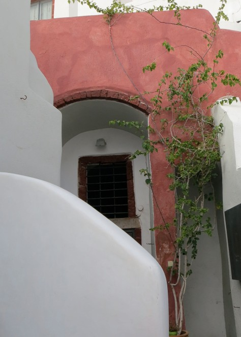 This halfway hidden door in Oia on Santorini caught my imagination. I wanted to go up and knock.