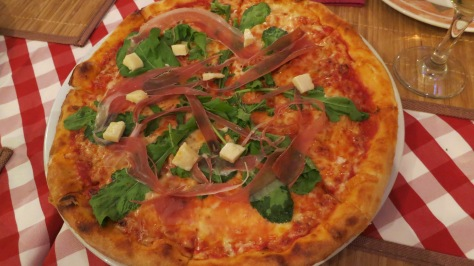 Our pizza, Croatian style.