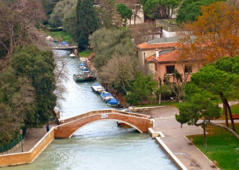 Venice is justly famed for its canals... and for the bridges over the canals. Each seems to have a different personality.