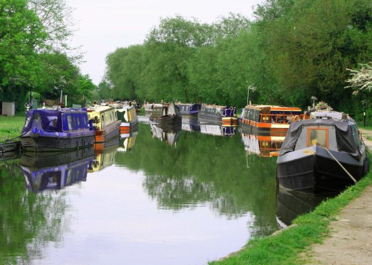 Maneuvering a 60 foot long Narrow Boat through the Trent and Mersey Canal in England two summers ago was a very different but equally rewarding experience.