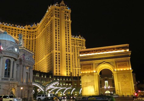 The Paris Casino on the Las Vegas Strip.