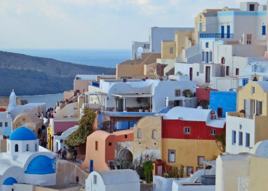 There are millions of beautiful photos of the Greek Island of Santorini, but none can match going there.