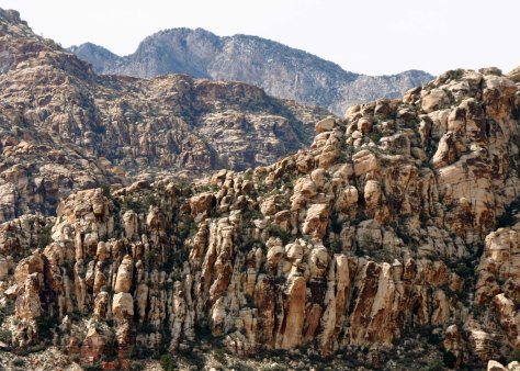 Peggy captured this jumble of rocks which reminded me of Bryce Canyon.