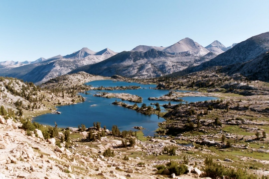 Sierra Nevada lakes