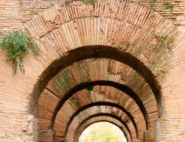 Arches in the Roman Forum