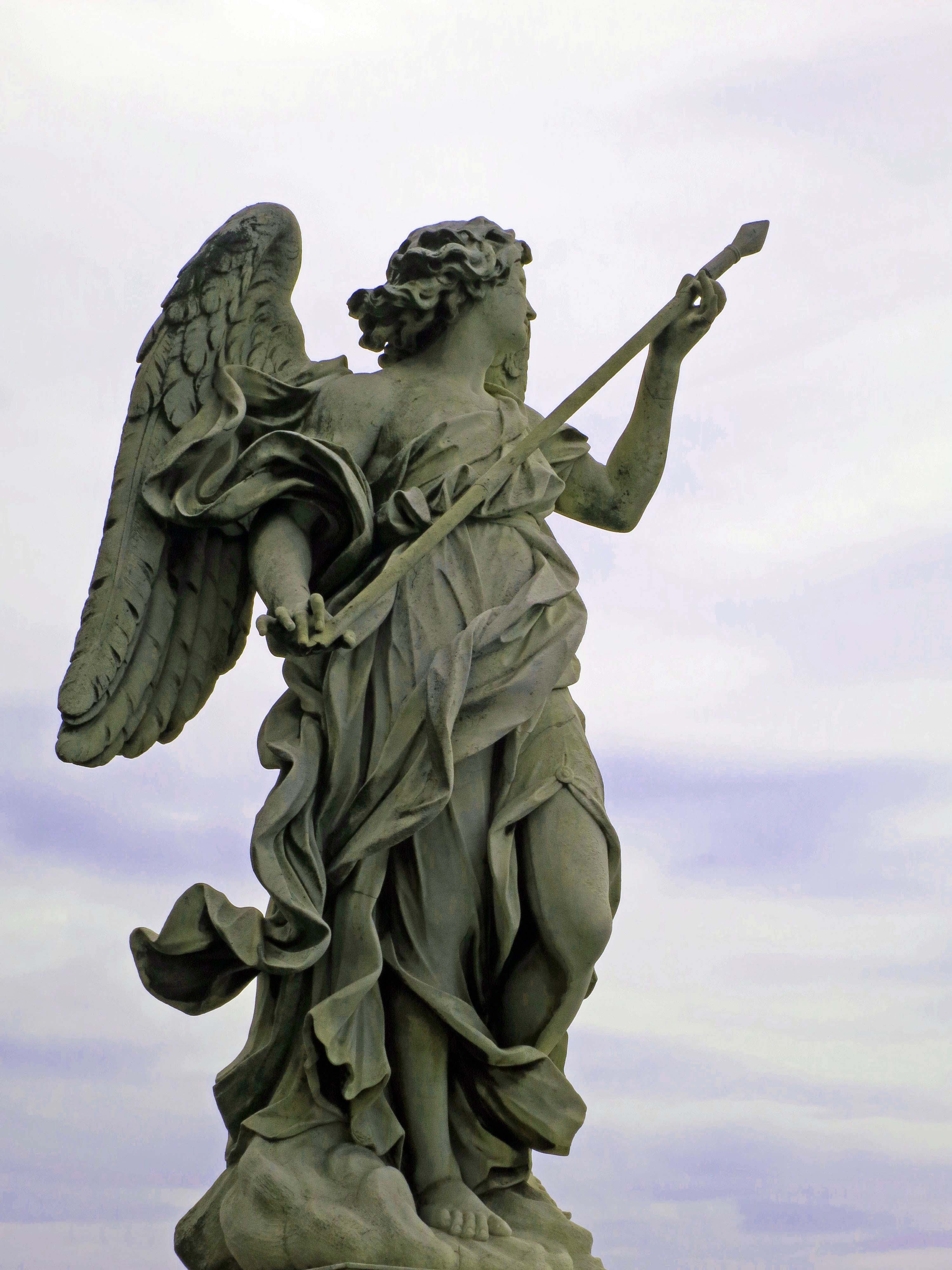 The Pont St. Angelo received its name during the Renaissance when Bernini oversaw a project to line it with angels representing Christ's crucifixion.