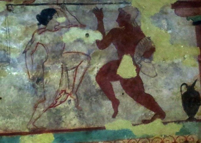 Dancers in Tarquinian Tomb