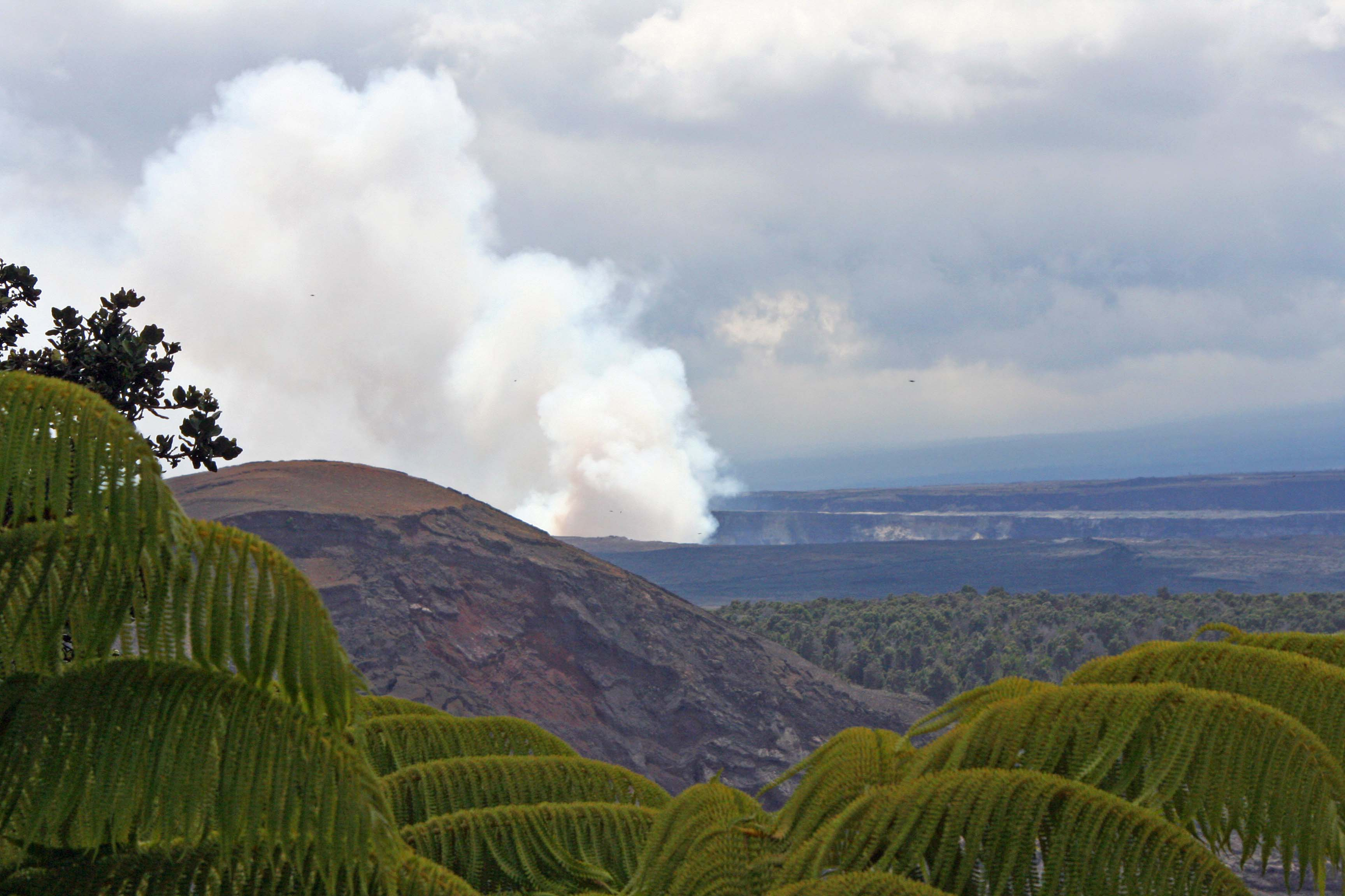 Hawaii Volcanos National Park.