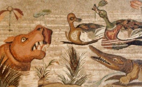 Pompeii mosaic