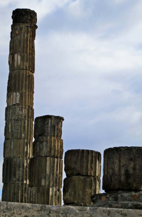A final photo of Jupiter's Temple, which I liked because of the massive, almost brooding sense, it gave to the columns.