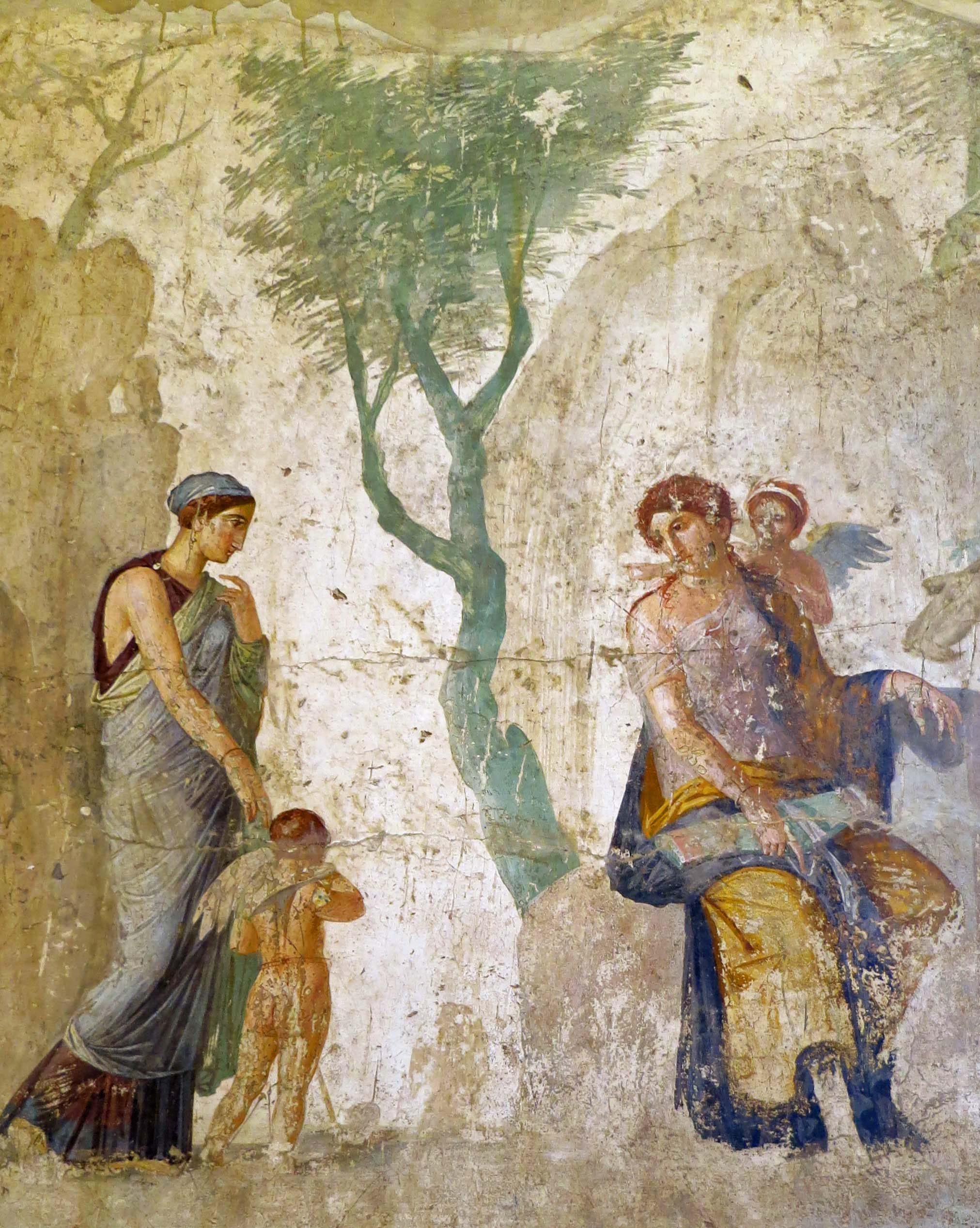 Pompeii painting