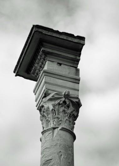 Corinthian Column in Roman Forum