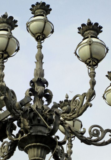 Lamp on St. Peter's Square.