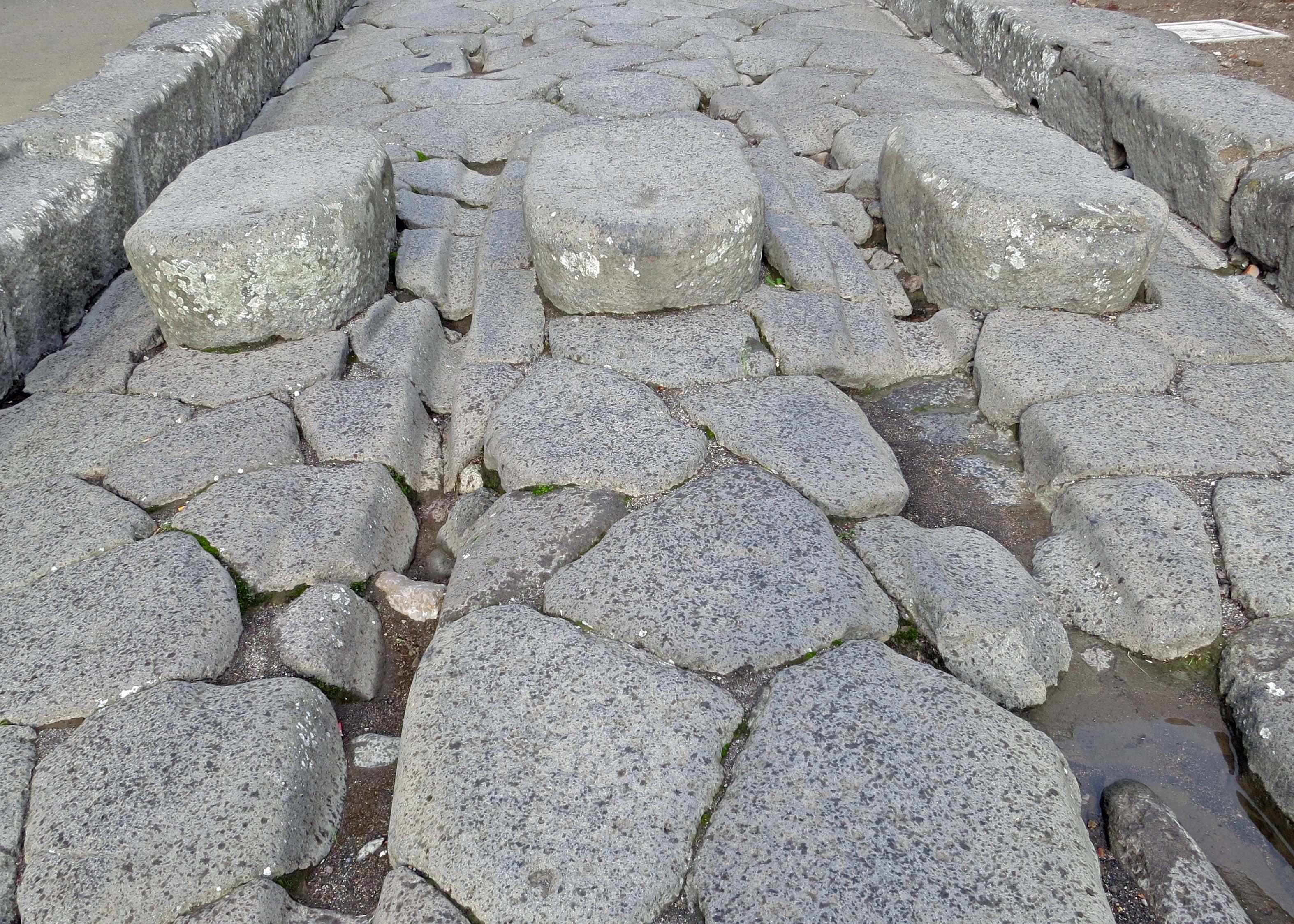 Huge Granite Stone : The ghosts of pompeii… seaports mediterranean