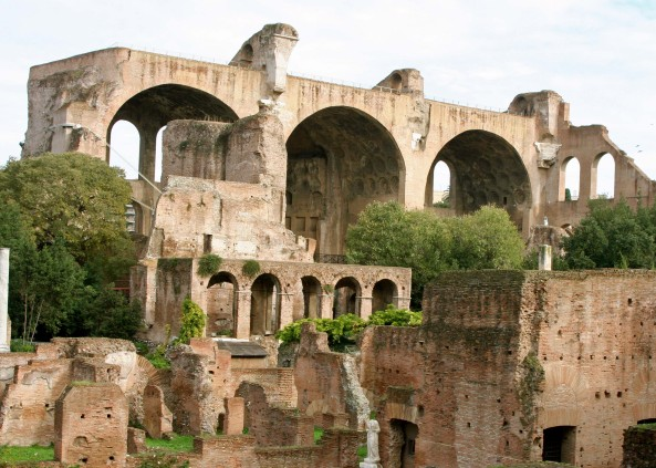 Temple of Constantine in the Roman Forum