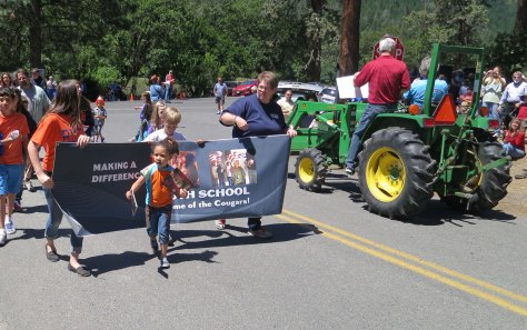 Buncom Day Parade in Southern Oregon