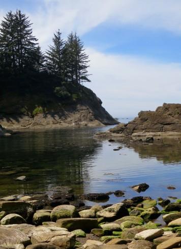 Cove on Oregon Coast near Coos Bay, Oregon