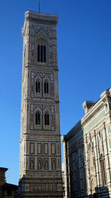 Giotto's Bell Tower in Florence Italy
