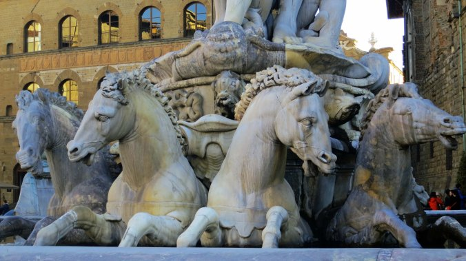 Neptune sculpture by Ammannati.