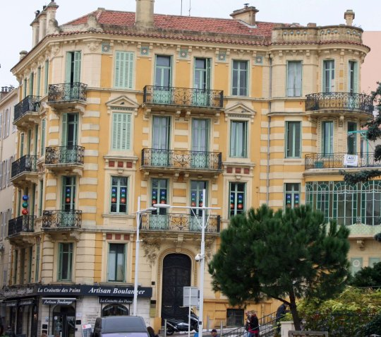 Building in Cannes, France.