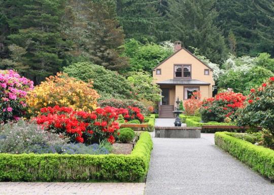 Shore Acres Botanical Garden