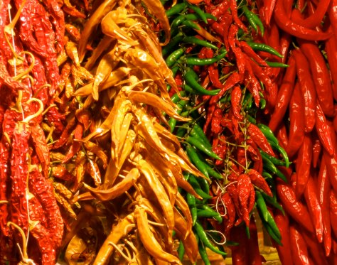 Being a big fan of spicy food, I found these peppers quite attractive.