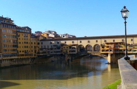Florence's most famous bridge