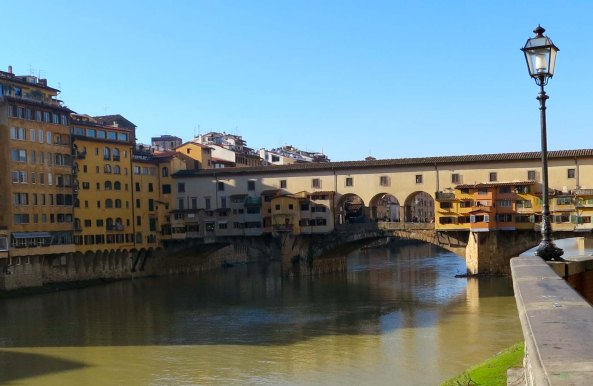 Florence's most famous bridge