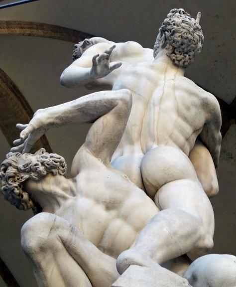 Rape of the Sabine Women by Giambologna