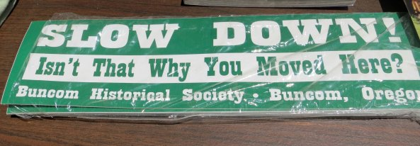 This bumper sticker says it all for country living.