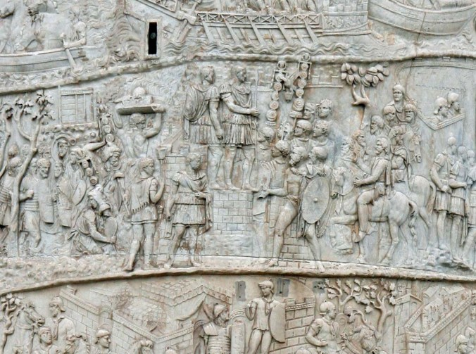 Trajan's Column Rome, Italy