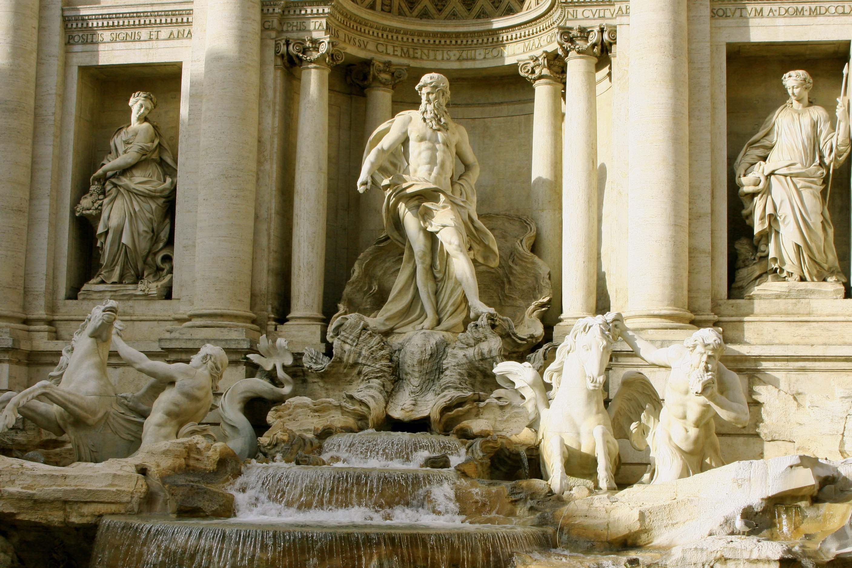 "Remember the song, ""Three Coins In A Fountain?"" Maybe not. Anyway, it was about Trevi Fountain, one of the must-sees on most tours of Rome."
