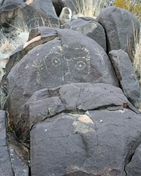 Three Rivers Petroglyph.