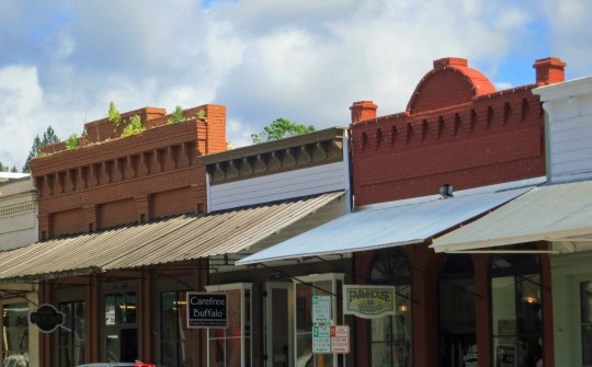 Historic buildings in Jacksonville, Oregon