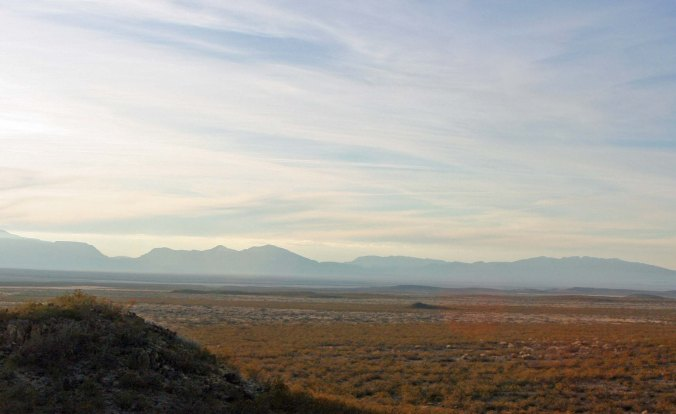 Mountains and deserts of Southern new Mexico