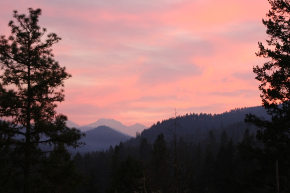 Red Buttes in the Siskiyou Mountains.