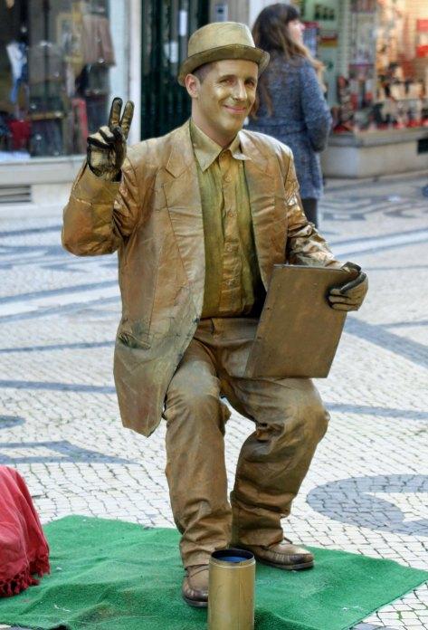 Portuguese mime.