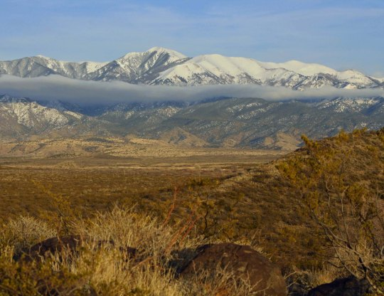 Sacramento Mountains of New Mexico.