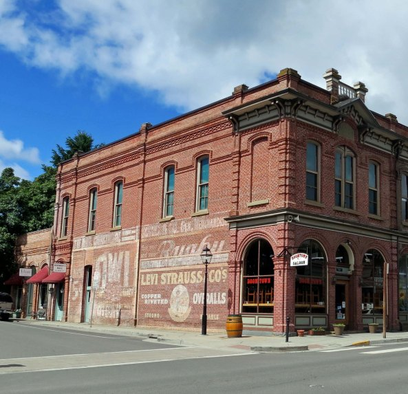 Redmen's Hall Jacksonville, Oregon.