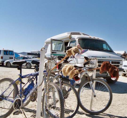 Camping at Burning Man