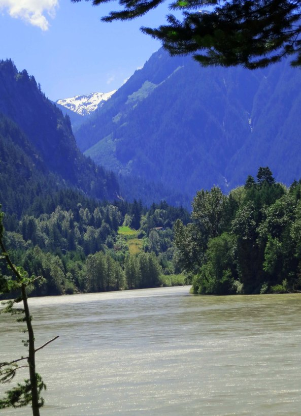 Fraser River, Hope BC