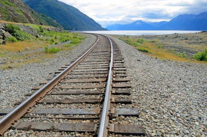 Turnagain Arm and the Alaska Railway.
