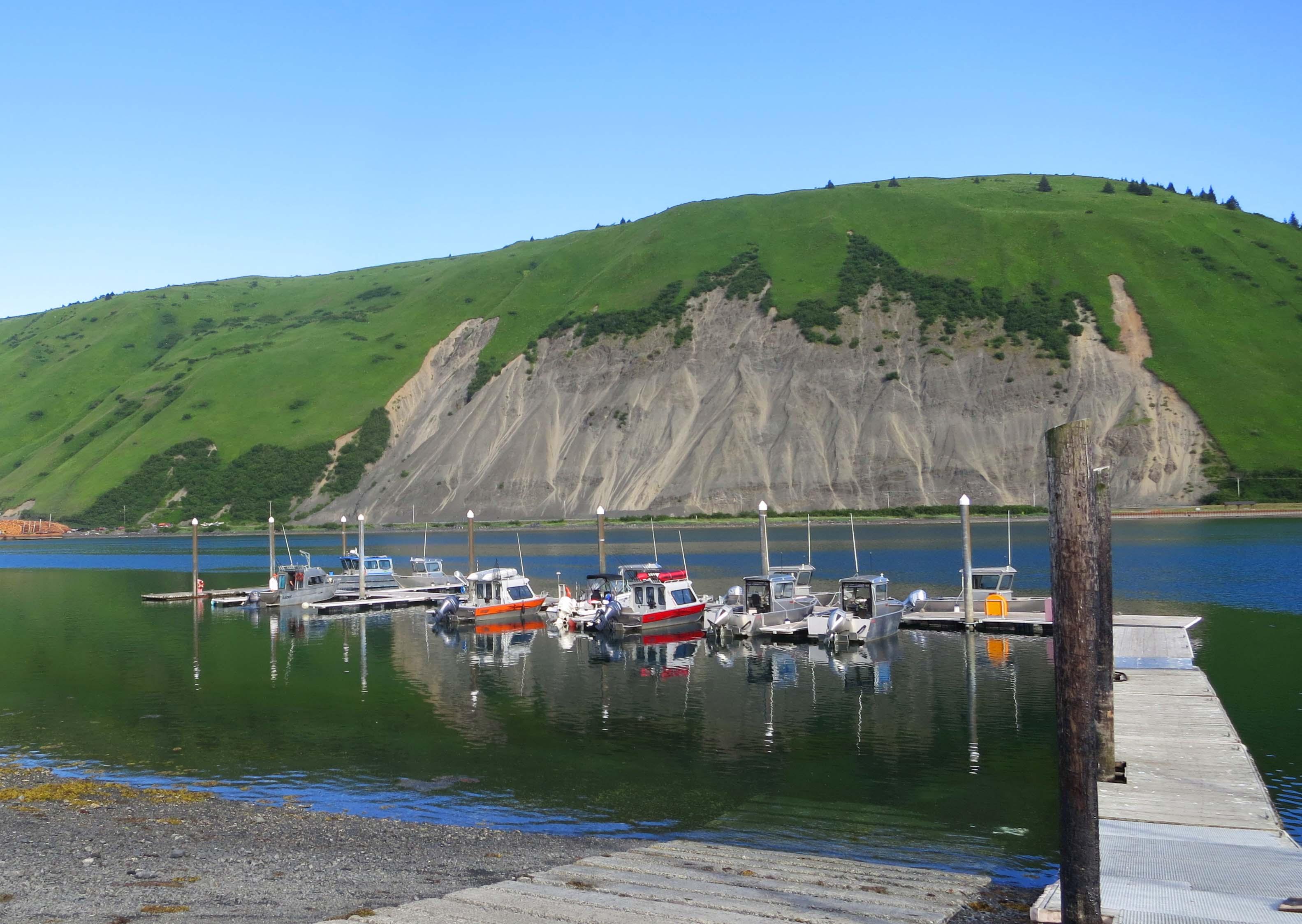 Coast Guard Kodiak has a dock for small fishing boats on base  and makes rental boats available for Coasties. (Members of the Coast Guard)