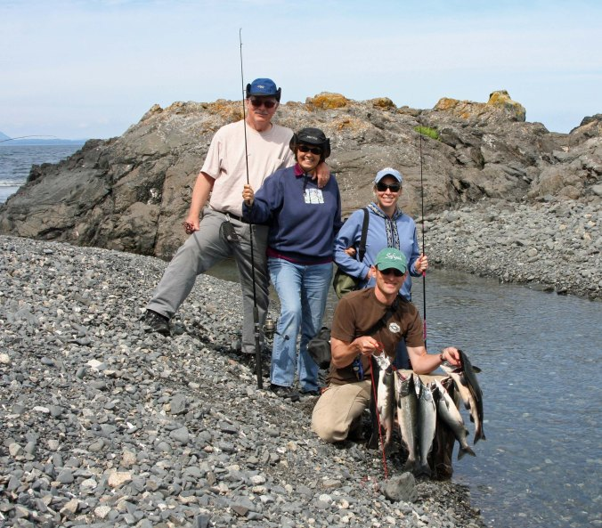 The results from our first trip out to the Chiniak Peninsula.