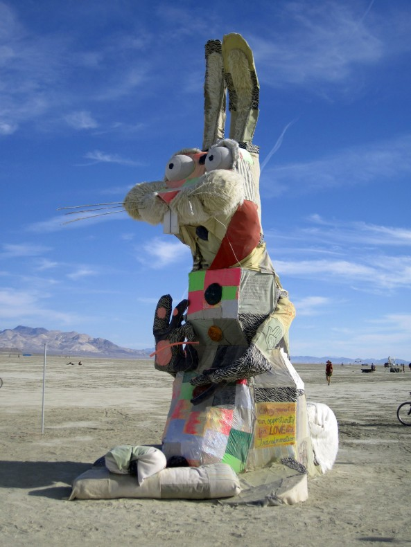 Burning Man Rabbit