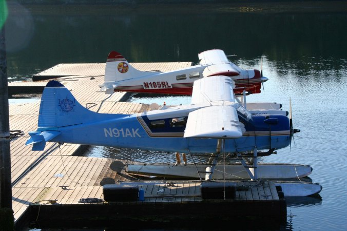 Beaver floatplane in Kodiak Alaska.