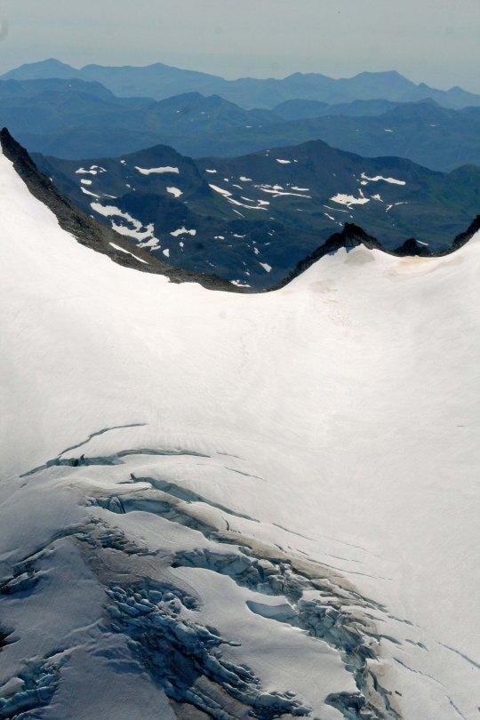 Kodiak Alaska glaciers.