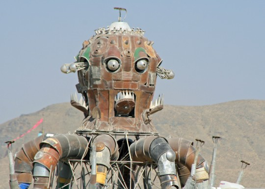 Will this monster be awaiting us when we arrive at Burning Man?